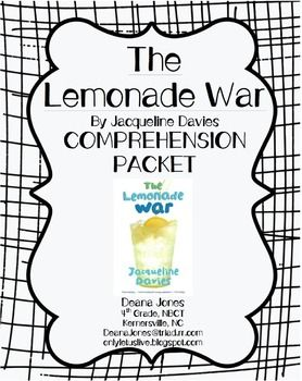 40 best images about the Lemonade War on Pinterest