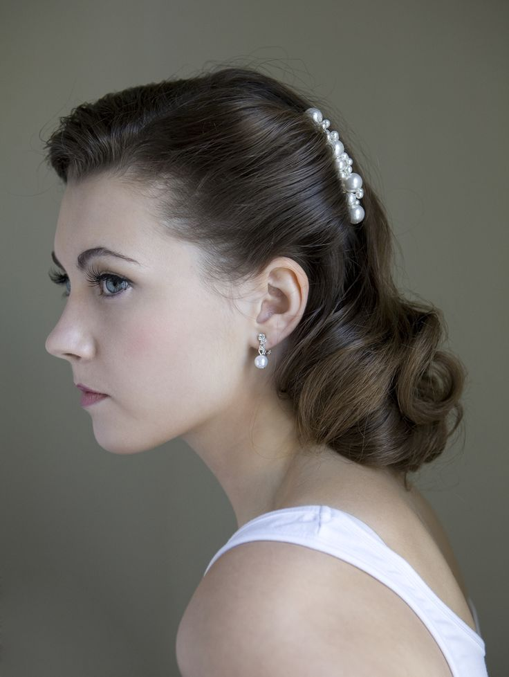 Best 25+ 1940s wedding hair ideas on Pinterest