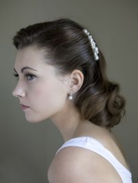 Best 25+ 1940s wedding hair ideas on Pinterest | 1940s ...