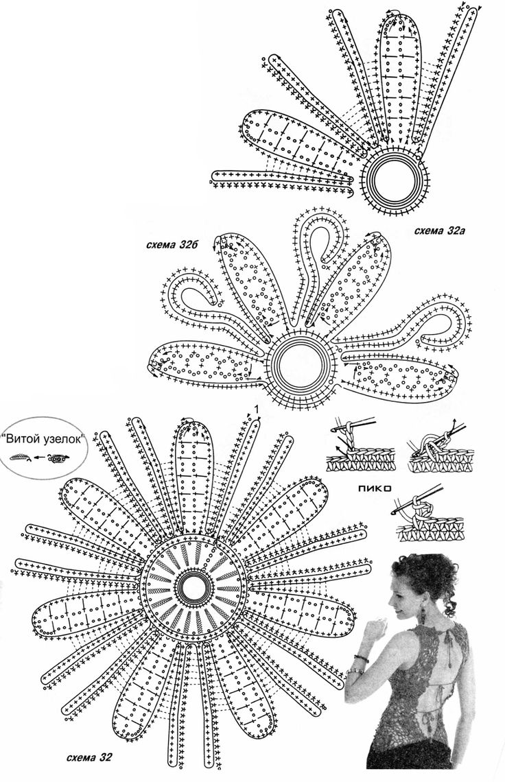 558 best images about CROCHET FLOWERS/LEAVES/HEARTS on
