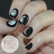 moon nails ideas