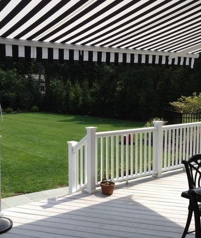 Black Amp White Backyard Awning Http Www Awningresources