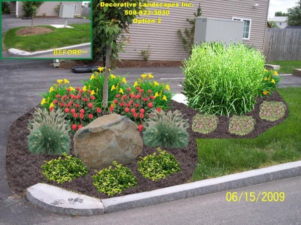 landscaping ideas commercial