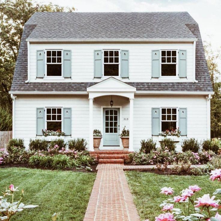 Best 25+ Blue shutters ideas on Pinterest