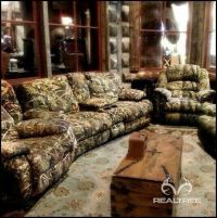 Realtree Camo Furniture | Living Room. | Pinterest ...