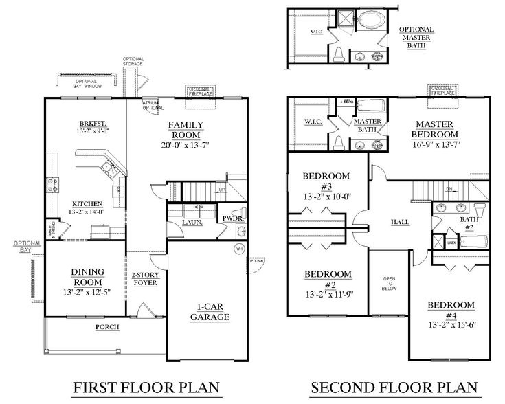 16 best images about house floor plan on Pinterest