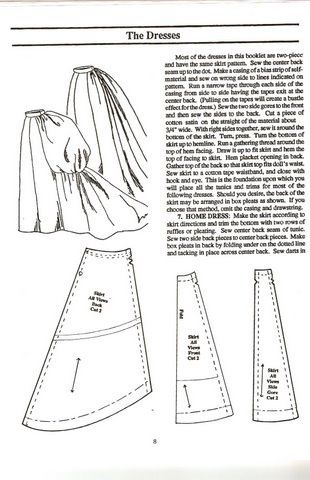 228 best images about 1820-1899 Sewing Patterns