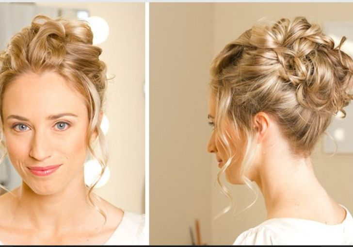 Cute Updos For A Wedding