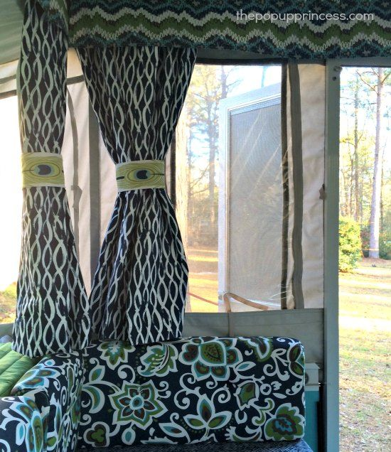 29 Best Images About Camper Curtains & Windows On Pinterest