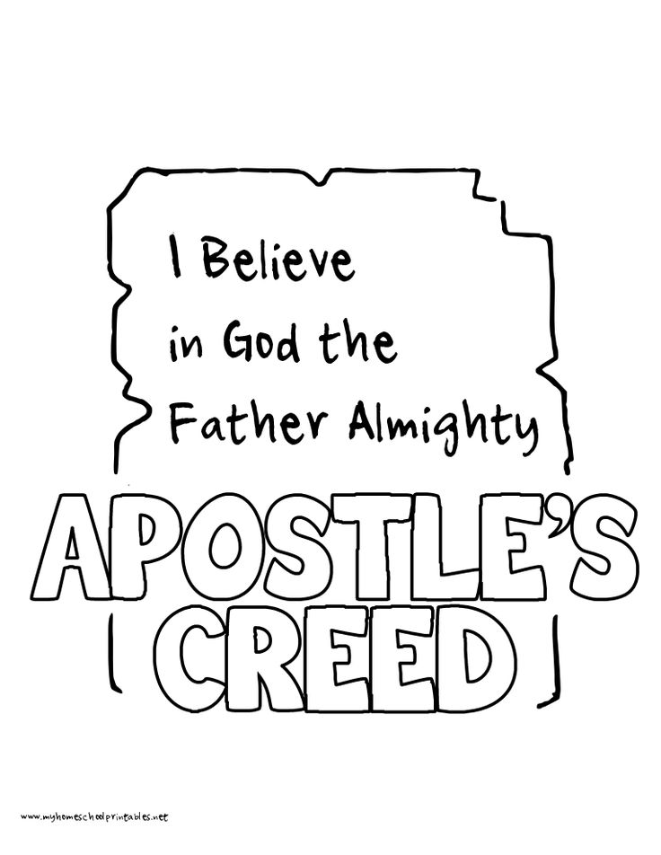 17 Best images about Children's Ministry ~ Apostles' Creed