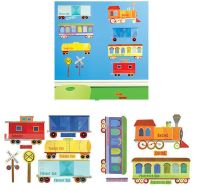 Train Ride Wall Decals - Wall Sticker Outlet | Trains ...