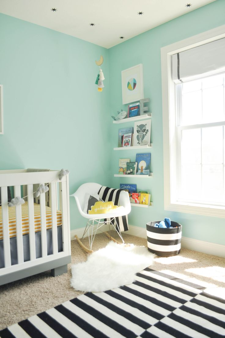 Bleu Turquoise Chambre Bebe