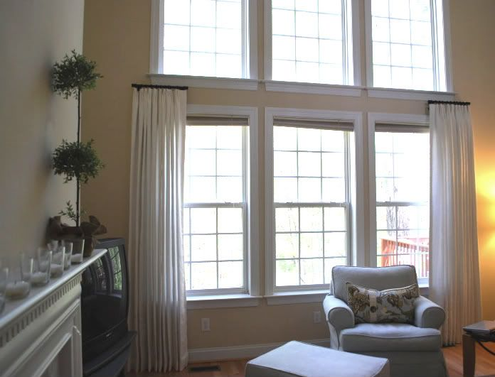 25 Best Ideas About Short Curtain Rods On Pinterest Cream