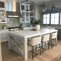 25+ best ideas about Farmhouse kitchen island on Pinterest ...