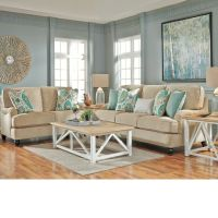Coastal Living Room Ideas: Lochian Sofa by Ashley ...