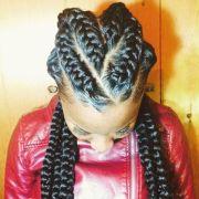 big cornrow braids