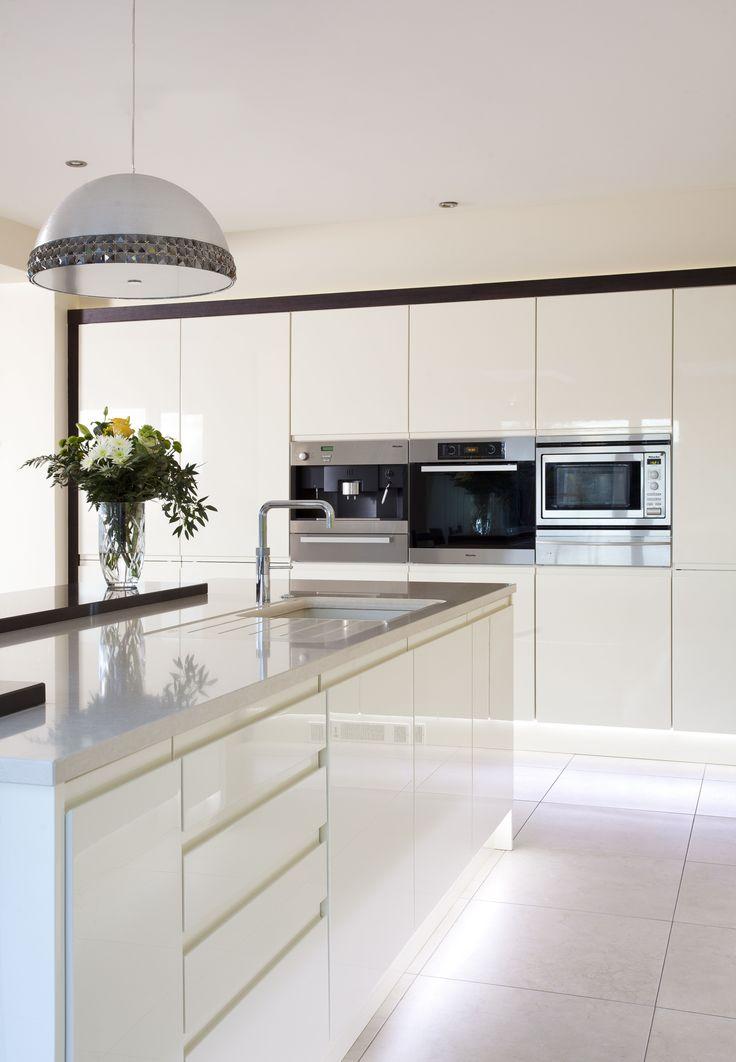 1000+ ideas about Modern White Kitchens on Pinterest