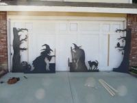 25+ best ideas about Halloween Garage Door on Pinterest