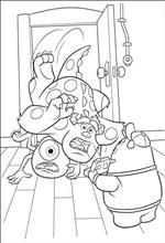 17 Best images about Disney + Pixar Coloring Pages and
