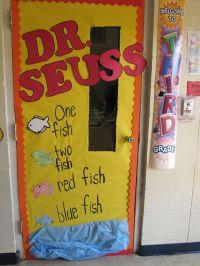 Dr. Seuss door march door. Read Across America | Boards ...