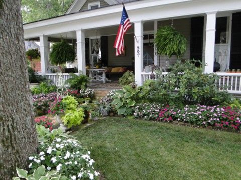 summer porch and shade plants