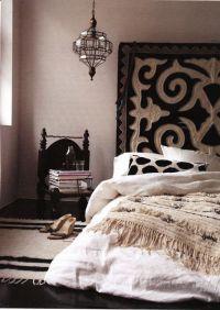 Gorgeous black and cream boho | bedding | Pinterest ...