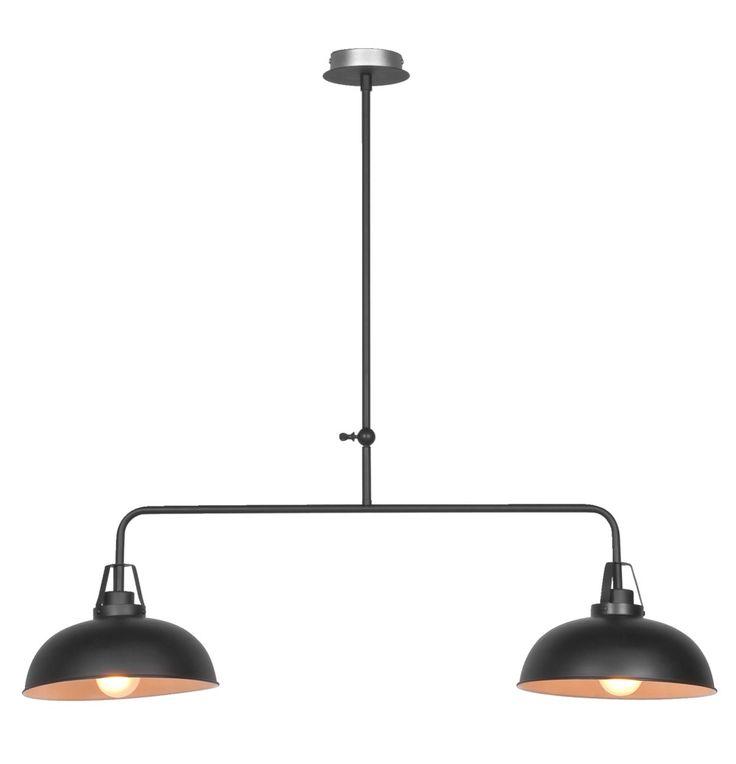 Hanglamp Dave helemaal van nu deze industrile hanglamp