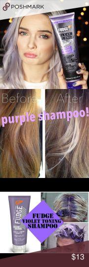 fudge purple shampoo ideas
