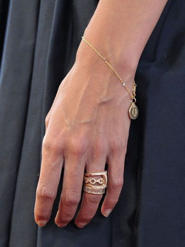 Katie Holmes Wedding Ring Stackable Rose Gold Rings With
