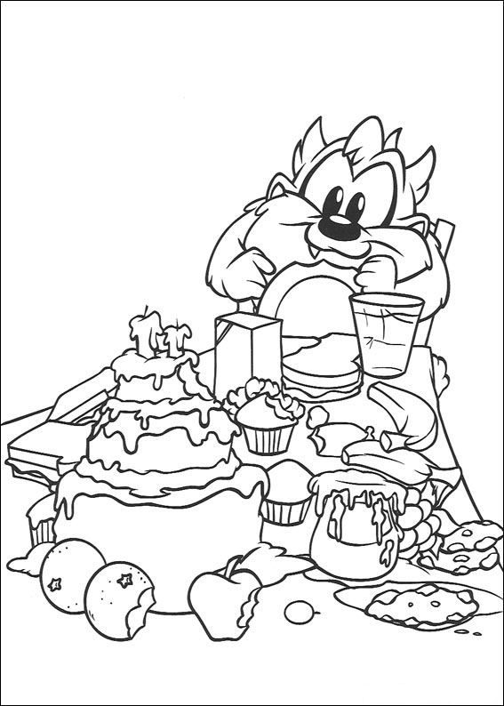 45 best images about Baby Bugs Bunny Coloring Pages on