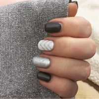 25+ Best Ideas about Silver Nail Art on Pinterest | Silver ...