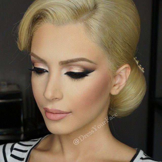 Wedding Makeup For Blue Eyes Blonde Hair