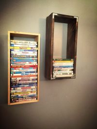 25+ best ideas about Dvd Storage Shelves on Pinterest ...