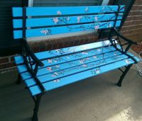 25+ best ideas about Painted benches on Pinterest ...