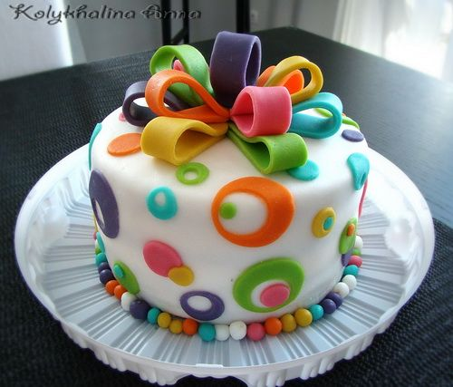 Best 25+ Fondant Birthday Cakes Ideas On Pinterest