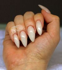 17 best ideas about White Almond Nails on Pinterest ...