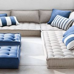 Oversized Outdoor Sofa Cushions Most Comfortable Beds Australia Perennials® Tufted French Floor ...