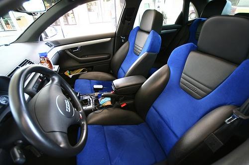 2004 S4 Alcantara seats Coolest interior ever  Cars  Pinterest  Interiors