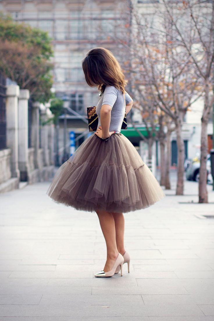 Cute. Cute. Cute. Tulle Skirt -- $75.00, via Etsy.