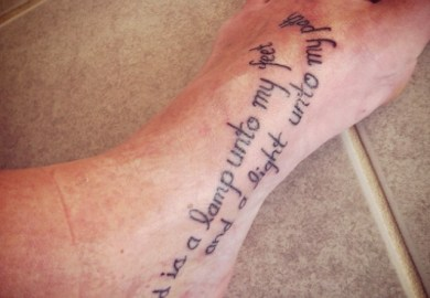 Verse Tattoo Ideas