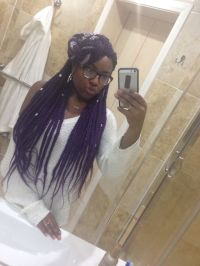 1000+ ideas about Purple Box Braids on Pinterest | Box ...