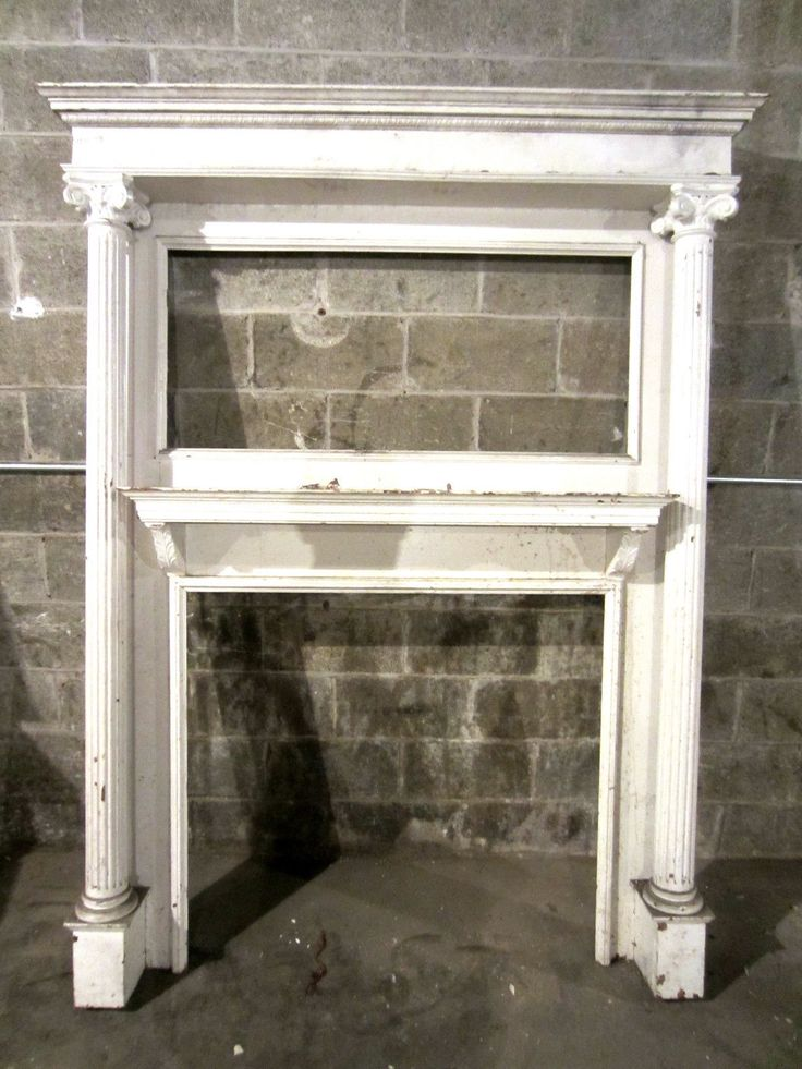 25 best ideas about Antique Fireplace Mantels on Pinterest  Building a mantle Diy mantel and