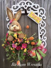 17 Best ideas about Easter Wreaths on Pinterest