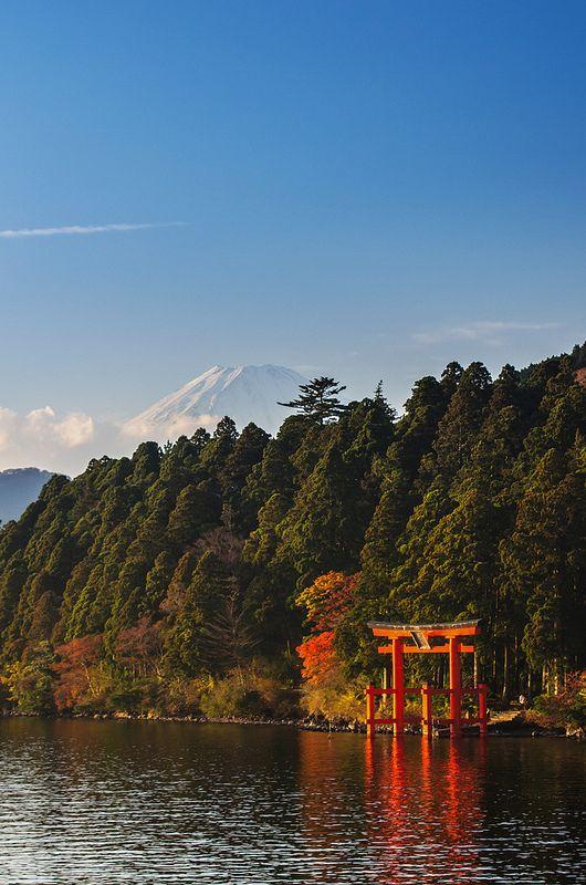 Hakone  Lake Ashi  Hakone and Mount Fuji