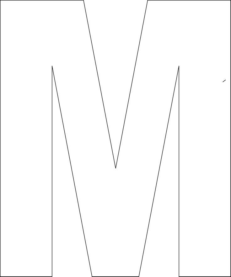 25+ best ideas about Alphabet letter templates on