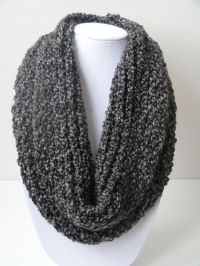 Loom Knit Infinity Scarf: No Wrap | looming | Pinterest ...