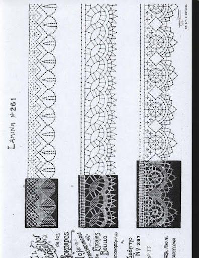 25+ Best Ideas about Bobbin Lace Patterns on Pinterest