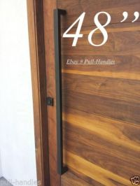 Pull Handle Stainless Steel Black Entrance Entry Front ...