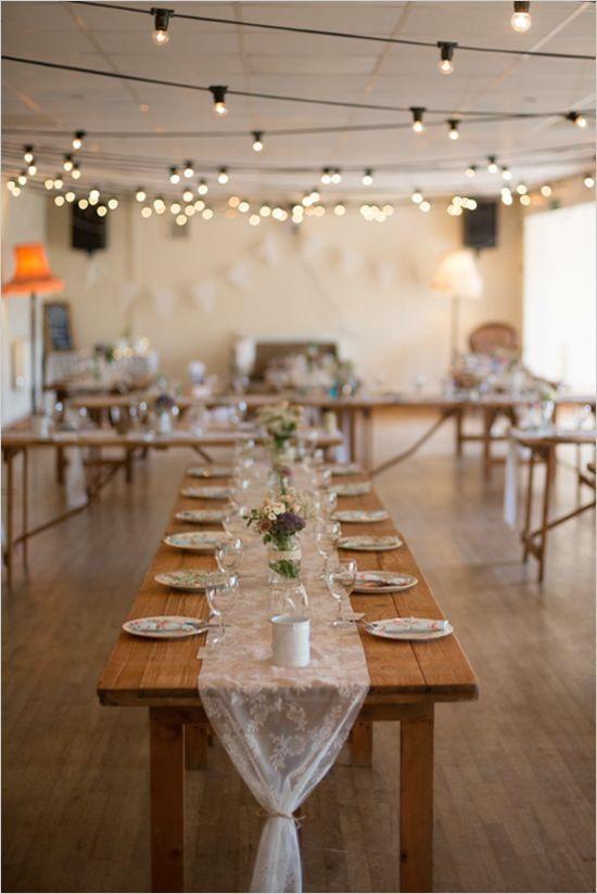 17 Best ideas about Indoor Wedding Receptions on Pinterest