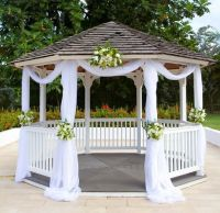 25+ best ideas about Gazebo Wedding Decorations on